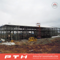 Taller prefabricado de estructura de acero de varios pisos