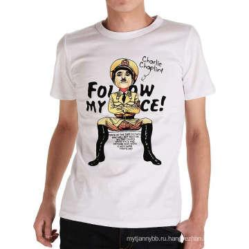 Рубашка на заказ дизайн мода печать Оптовая продажа лето мужская Т