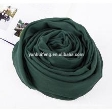 Cor cheia de caixinha de lã de alta qualidade Cashmere.scarf
