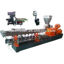 cost performance plastic recycling twin screw extruder