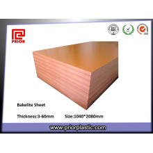 Feuille de Bakélite à haute température d'épaisseur de 6mm