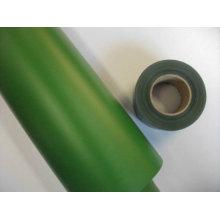 Filme do PVC do verde da espessura 691color de 0.07mm 0.1mm 0.12mm para a cerca