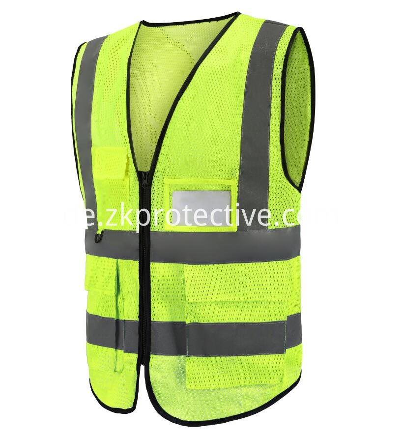 Vest With Reflective Tape