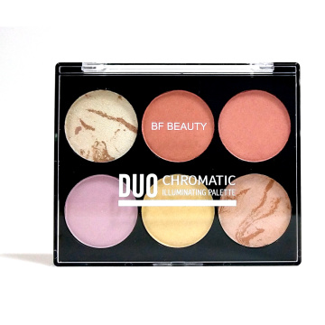 Duo Chromatic Illuminating Palette Paleta de resaltado OEM