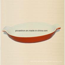 Esmalte Ferro Fundido Paella Pan Fabricante Da China