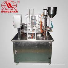 La fábrica proporciona directamente la máquina de sellado de llenado de vasos giratorios