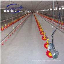 LEON broiler pan feeding system