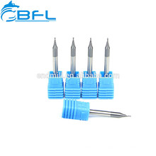BFL Micro molino de extremo Herramientas de corte de torno de metal de carburo, Endmill de pequeño diámetro