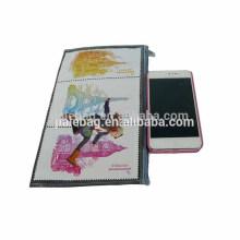 Высокое качество PP сплетенные PP zipper мешок, красивый кошелек . мобильный телефон сумка