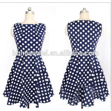 Summer Fashion designer ladies straight dress Women polka Dot Full Sleeve Knee-Length Straight Dresse for office