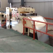 Flat plate production line