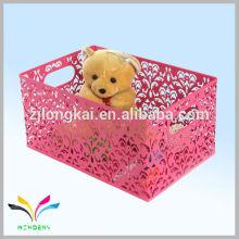 Hecho en China triángulo en forma de juguete bin de almacenamiento para niños