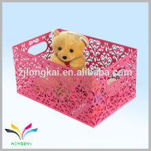 Made in China triangle shaped toy storage bin for kids