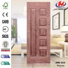 JHK010 El mejor hotel de la construcción Hoja de la puerta de madera interior del palisandro Hoja