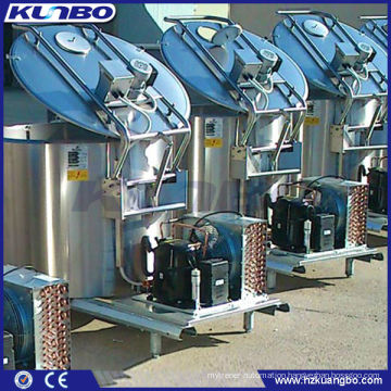Customized stainless Steel Vertical Milk Directly Cooling Tank
