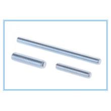 DIN976 / DIN975 Zinc plateó la barra del hilo / el perno del perno prisionero / la barra del hilo