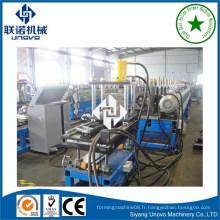 Machine à rouleaux en métal de gouttière de bonne qualité