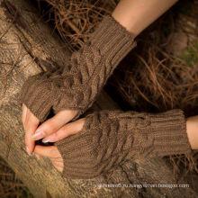 Оптом язвенник-менее базовые трикотажные рука теплее трикотажные длинные перчатки акрил