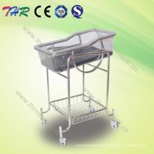 Stainless Steel Reclining Crib Bassinet (THR-RB002)