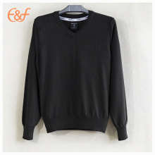 High Quality Customized Men Cotton Fitted Sweater
