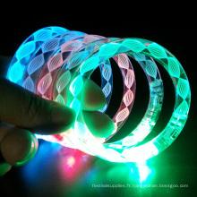 couleurs de bracelet led tube changeant de lumière