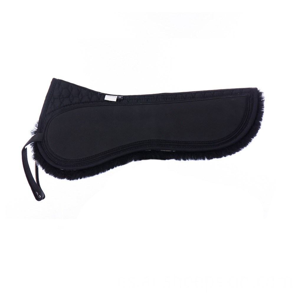 Sheepskin Half Pad With Rubber