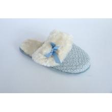 Women′s Knit Slipper Indoor Slipper Fotwear