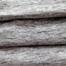 Linho tecido de malha cinza (QF14-1546-736)