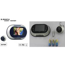 Sonnette d'appel sur batterie de 3,5 pouces avec caméra