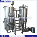 Direct Fired Pub Brewery Equipment , Home Stainless Steel Brewhouse For Wort Processing
