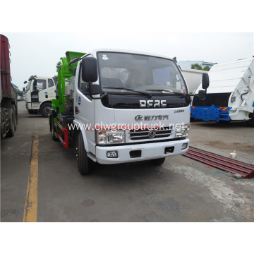 Dongfeng 4cbm kitchen garbage truck