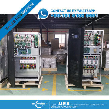 Bon prix 3 phase 160KVA en ligne à basse fréquence UPS