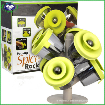 6 Stück Pop Up Spice Rack