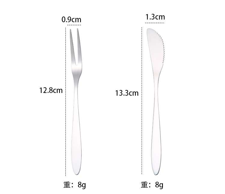 Fruit Fork And Knife