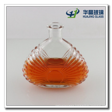 Factory Supply Classic Xo Empty Glass Spirits Bottle with Rock Stopper