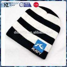 Спроектируйте свой собственный стиль зимнюю шляпу на заказ вязаную шапочку для оптовой продажи