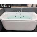 Aokeliya high-quality acrylic whirlpool bathtub 80*170cm  with LED light for bath or soacking