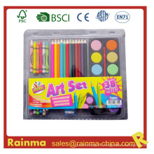 Schulpapier für Farbmalerei Set
