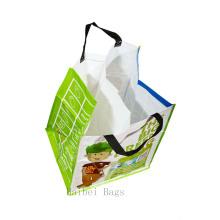 70 литров тканая сумка для переработанного полипропилена с внутренним разделителем (hbwo-47)
