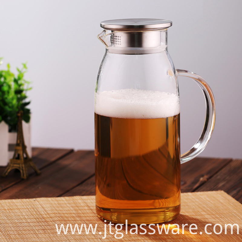 Glass Pitcher Juice & Iced Tea