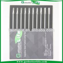 Getbetterlife 304Stainless Steel10 piezas 108mm largo aguja de Consejos tatuaje conjunto