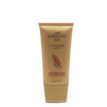 tube en plastique pour l'emballage de crème cosmétique pour les extensions de cheveux