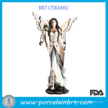 Home DEC Solemn Resin Angle Figurine