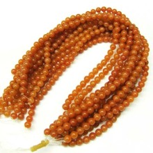 4MM Red Aventurine Round Beads
