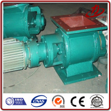 Rotary valve for powder feeder for pulse filter dust collector