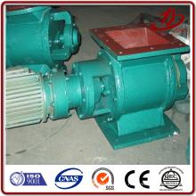 Válvula rotativa para alimentador de pó para colector de pó de filtro de pulso