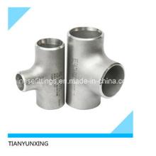B16.9 Tubo de aço inoxidável sem costura T de acessórios