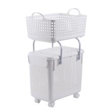 Пластиковая корзина для белья Пластиковая корзина для хранения