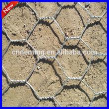 Anping Deming pvc fio de galinha revestida, fio de galinha, galvanizado malha de arame hexagonal