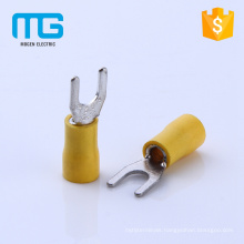 SV Insulated wire crimping fork terminal